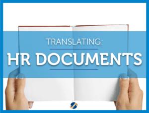translating human resources documents