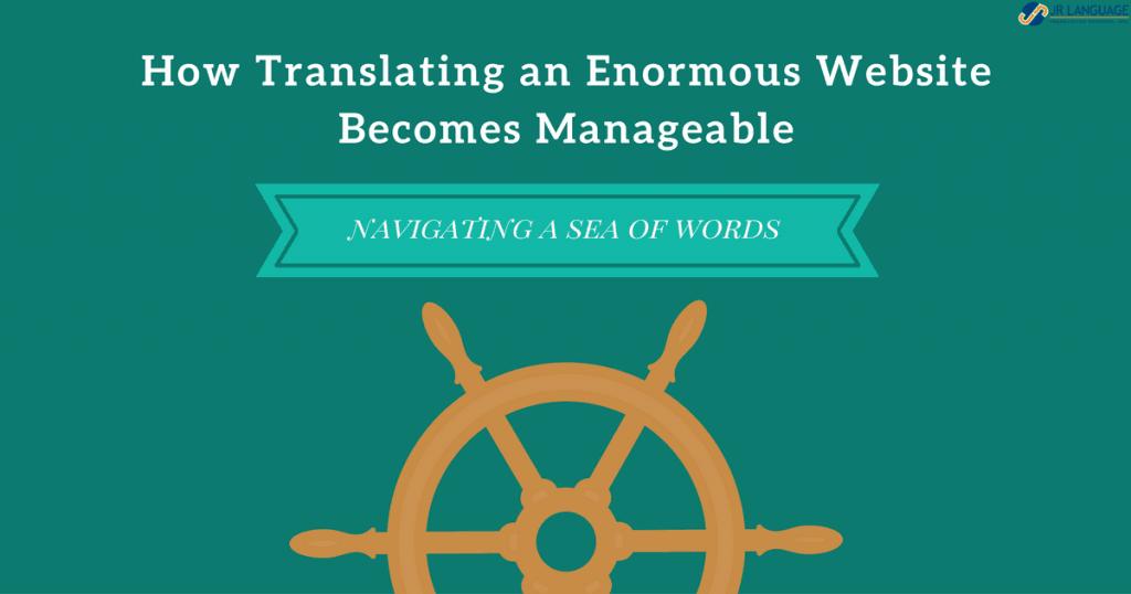 website translation becomes manageable