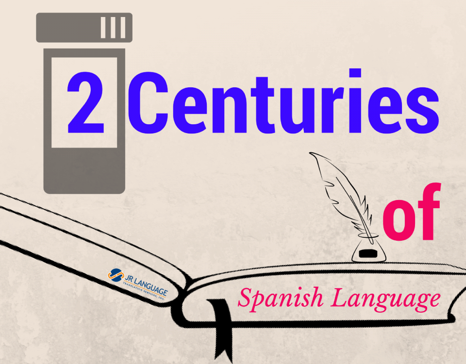 spanish language two centuries