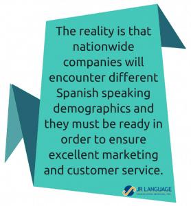spanish speaking demographic marketing