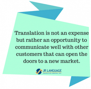 translation opportunity communicate market
