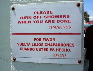 bad spanish translation signage