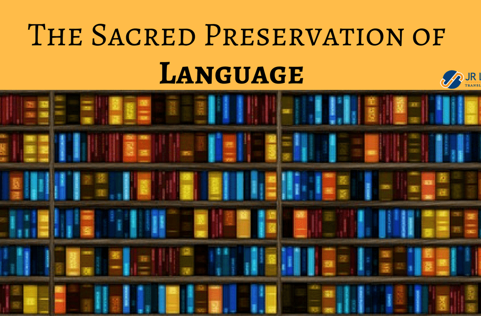 sacred preservation of languages