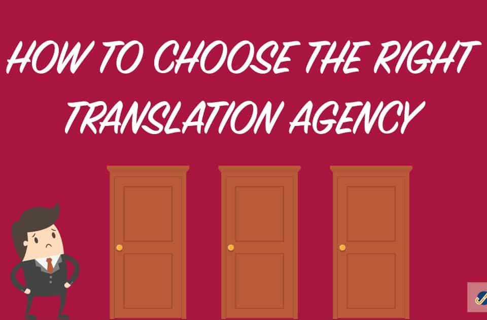 choosing a translation agency