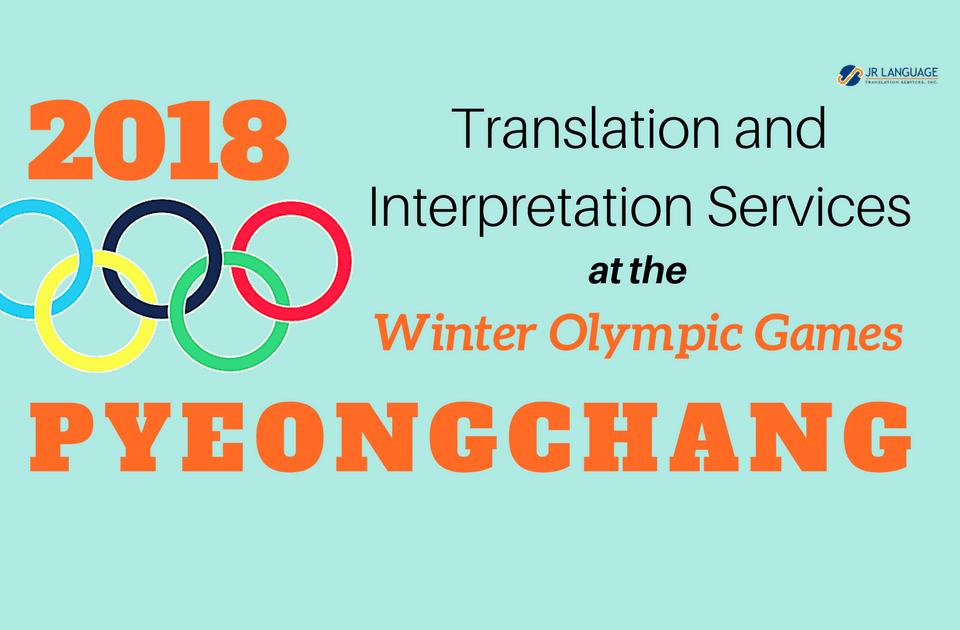 translation and interpretation services olympics