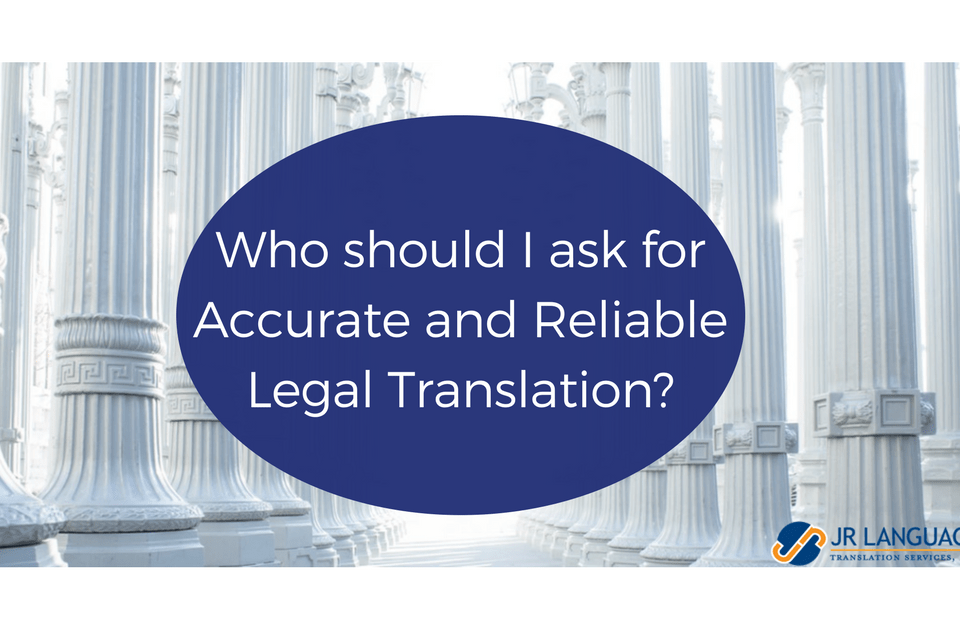 reliable legal translation services