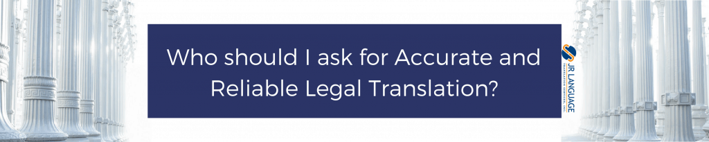 accurate legal translation services