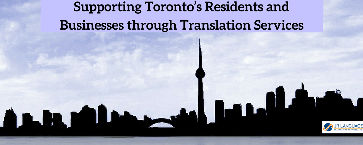 toronto translation services supports residents
