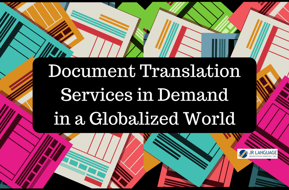 document translation services demand