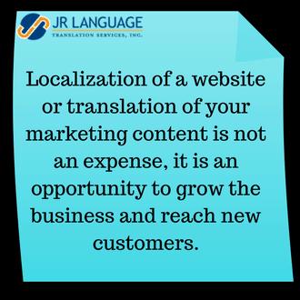 marketing translation and website translation