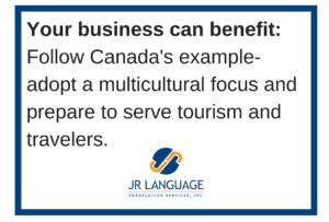 multicultural translation for tourism