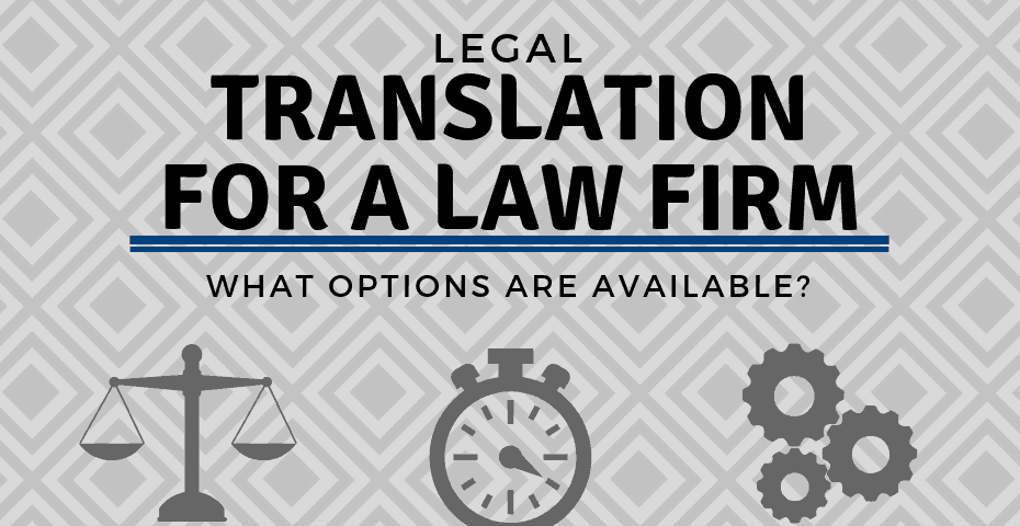 legal translation options for law firms