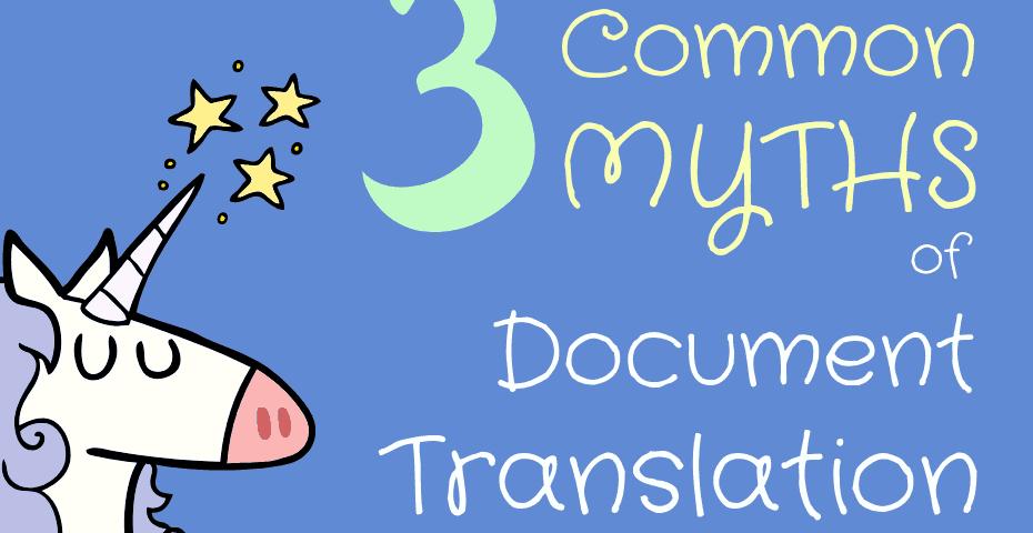 document translations myths