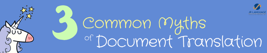 document translations common myths