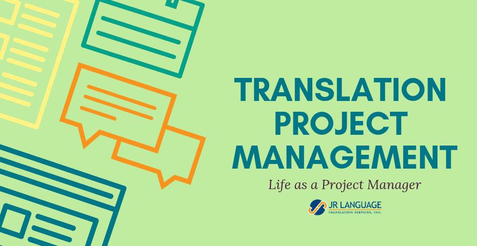 Translation Services Project Management