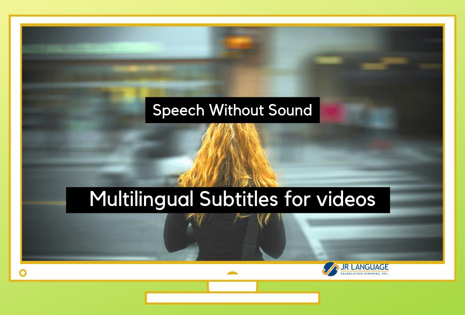 video translation multilingual subtitles