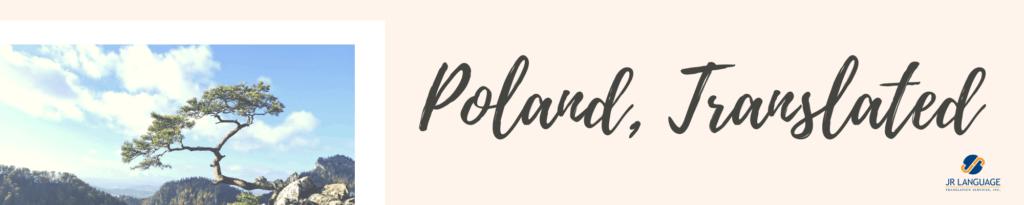 translating poland