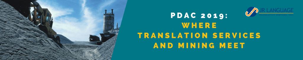 pdac toronto translation services