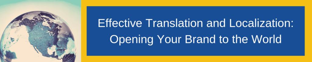 translation services localization brand