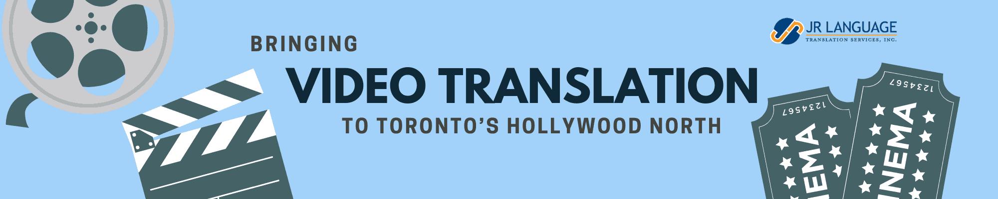 video translation services toronto global