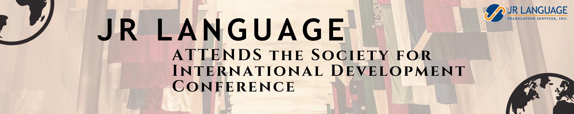 jr language translation services washington SID conference
