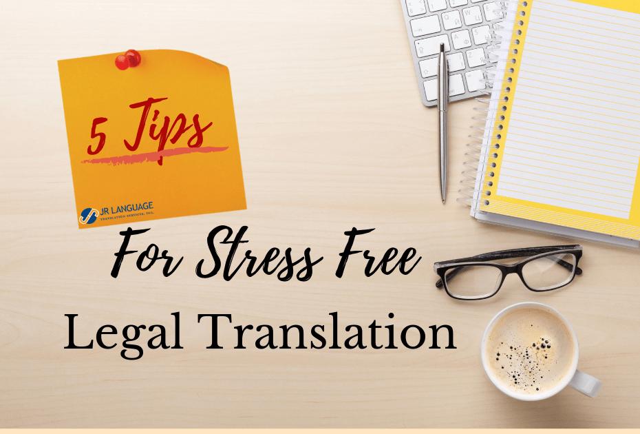 tips for legal document translation