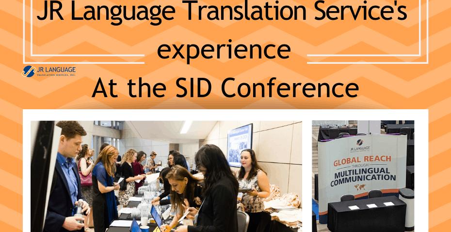 translation services washington dc conference