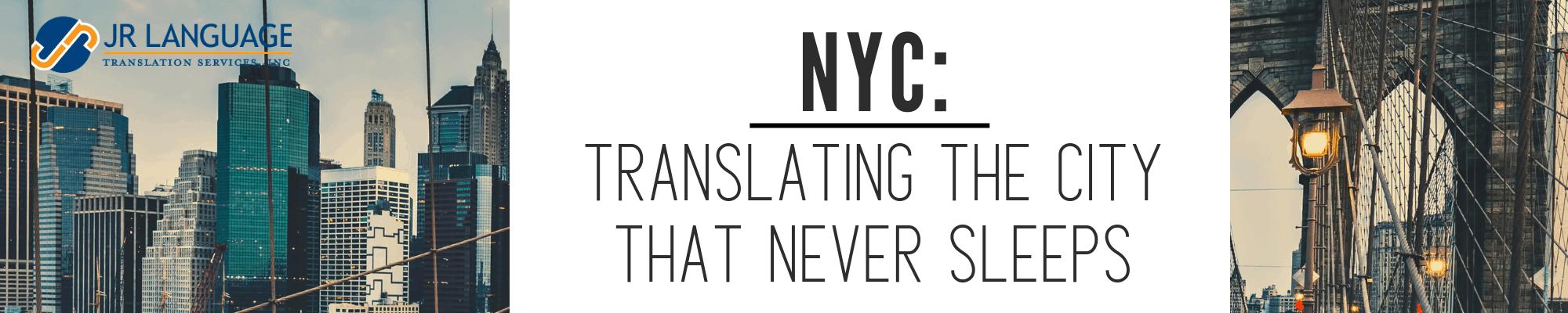 nyc translation services impact