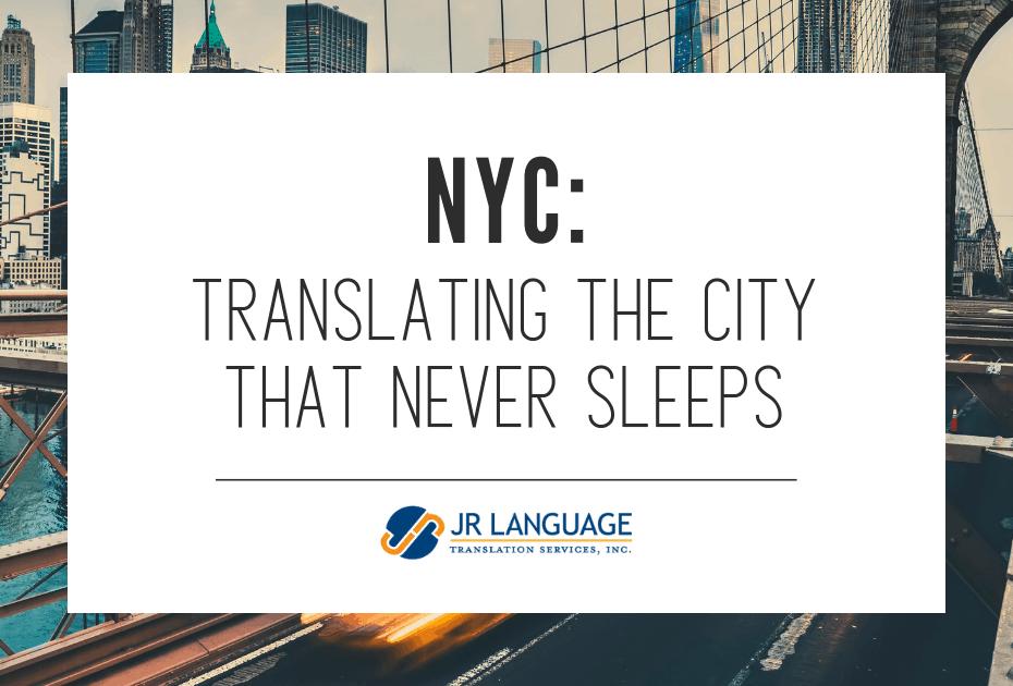translation services new york
