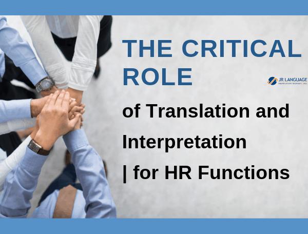 human resources translation services interpretation