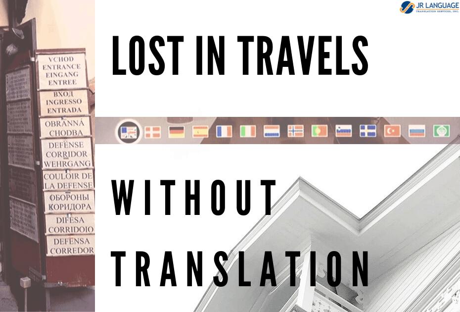 importance travel translation