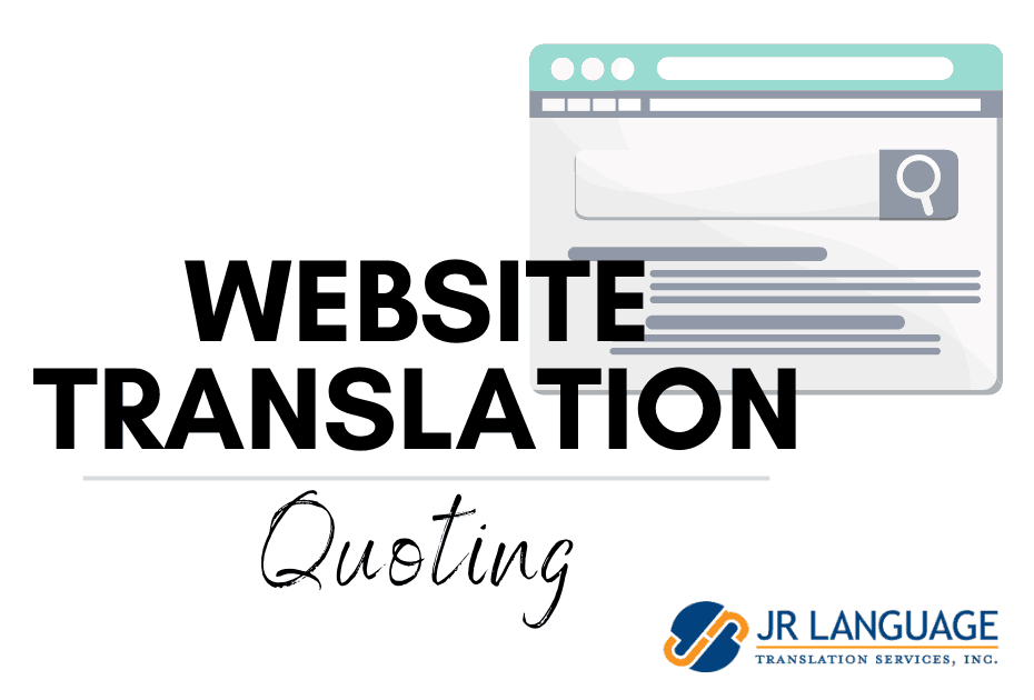 Website Translation and Localization services