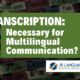 professional transcription services for audio