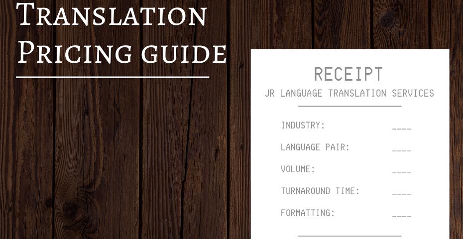 Translation Services Company