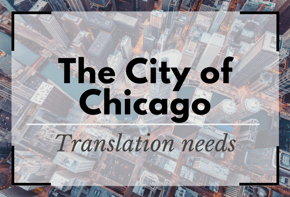 Translation Services Chicago needs