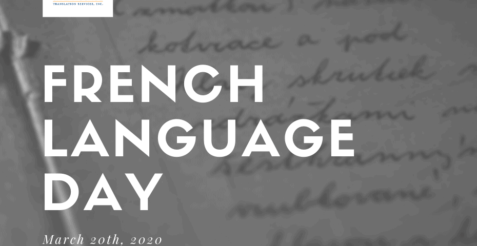 French Translation and French Language day