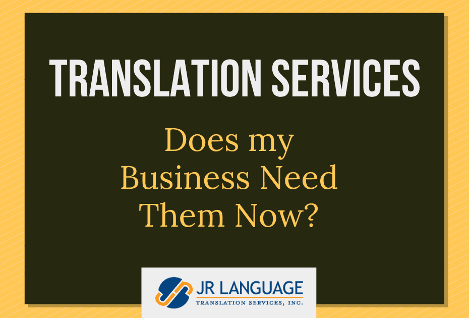 translation services needs