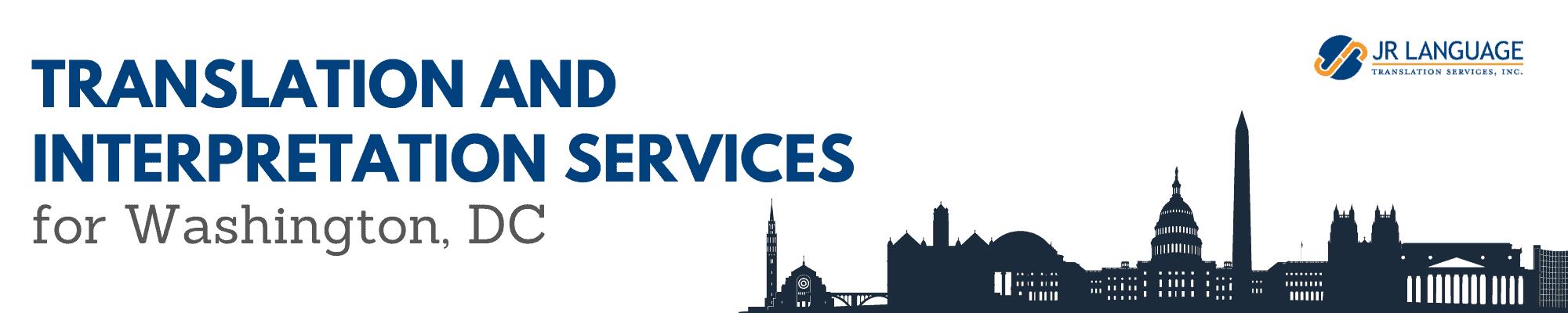 Washington DC translation services