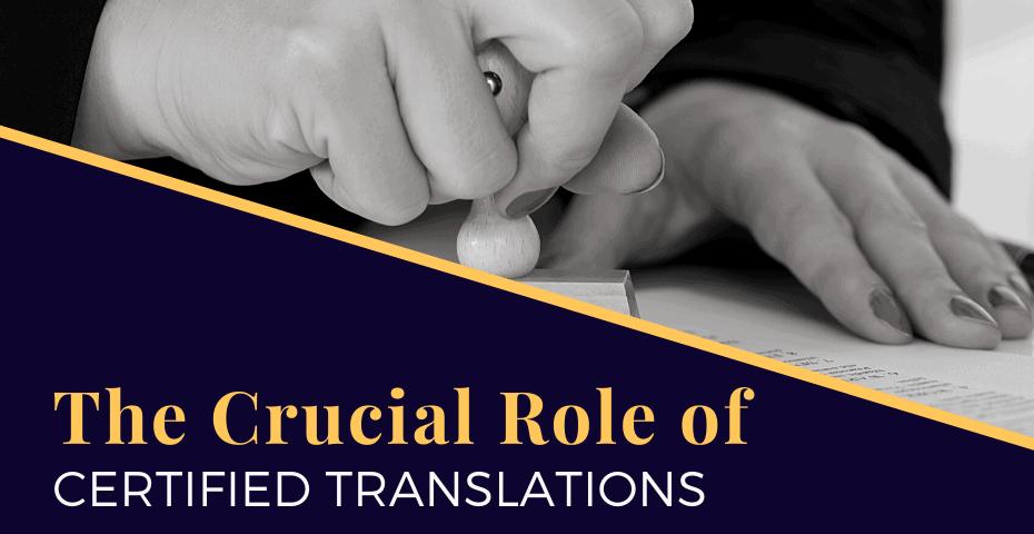 USCIS certified translation