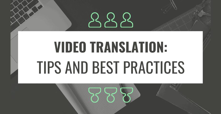 video translations
