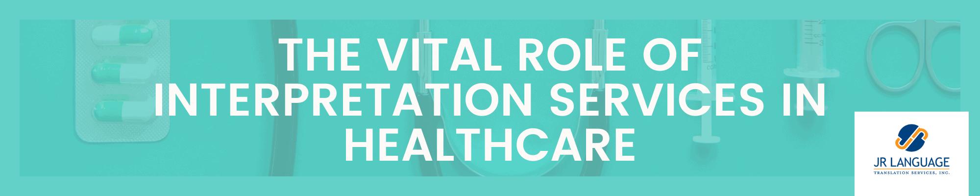 interpretation services in healthcare
