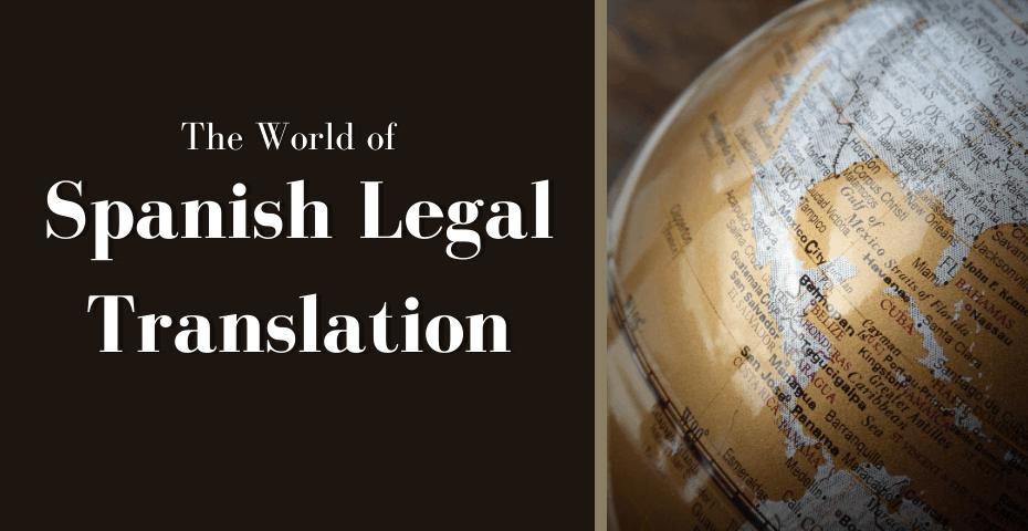 legal translation spanish translation