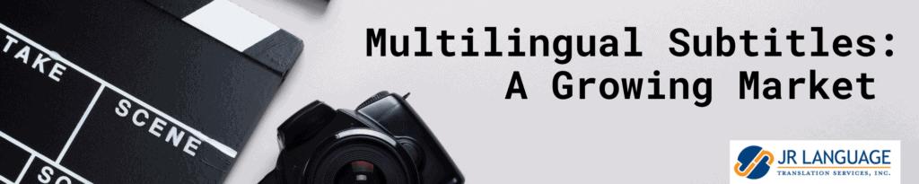 multilingual subtitles transcription
