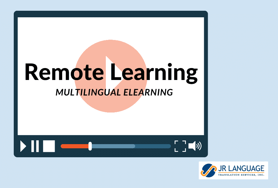 remote learning translation services
