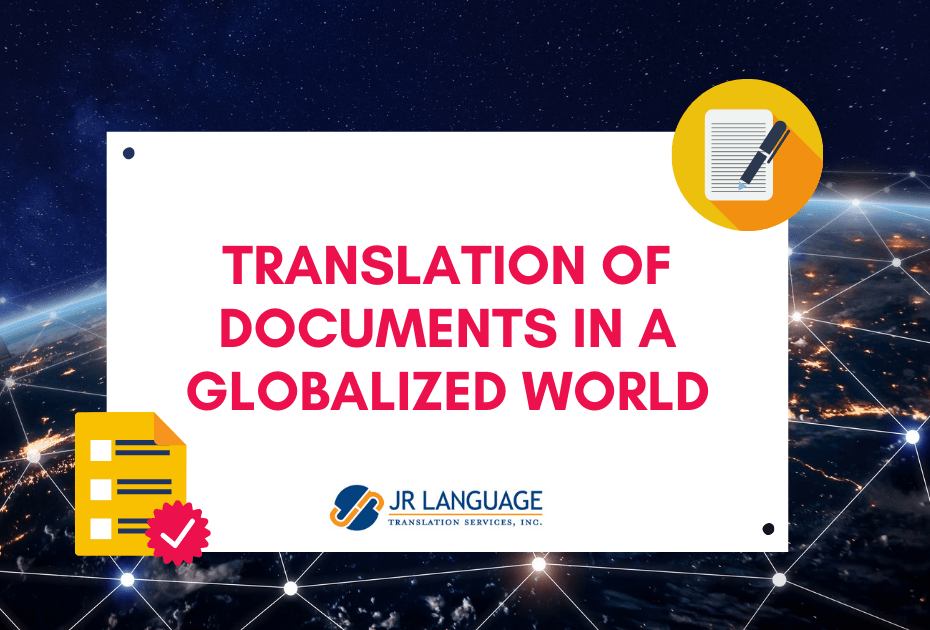 translation services for documents legal