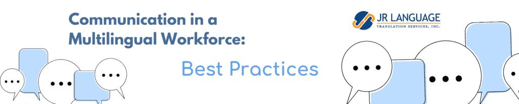 multilingual communication best practices