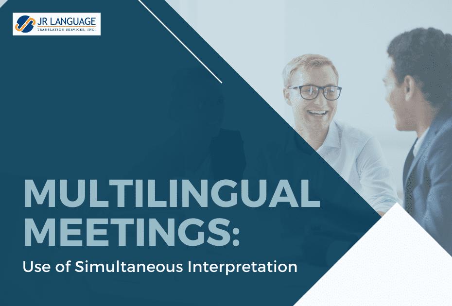 Business Simultaneous interpretation services