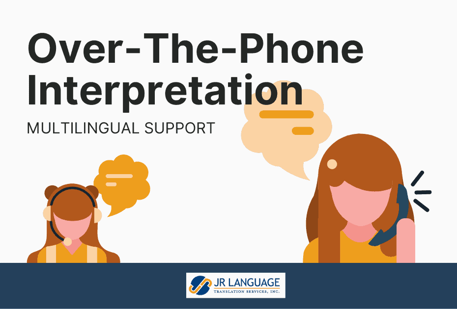 business over the phone interpretation services